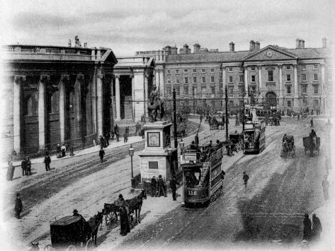 College Green, Dublin, C.1900 Giclee Print