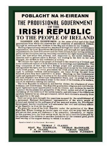 Irish Republic Art Print