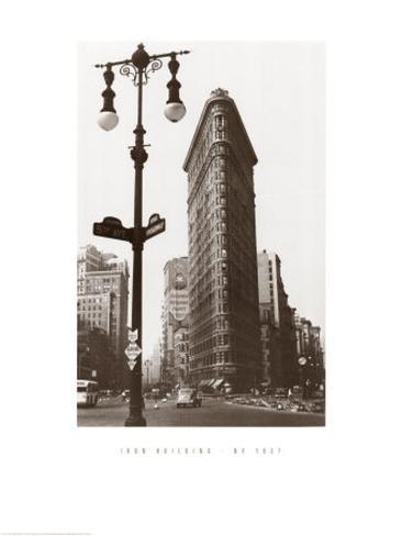 Iron Building, Ny, 1937 Art Print