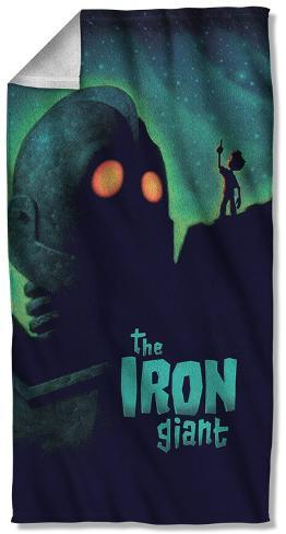 Iron Giant - Look To The Stars Beach Towel Beach Towel