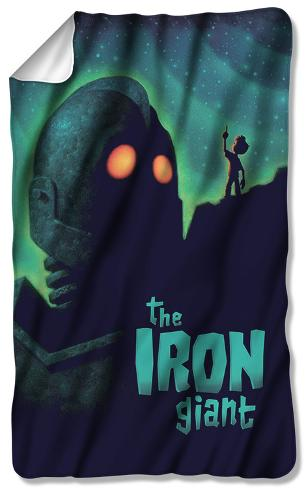 Iron Giant - Look To The Stars Fleece Blanket Fleece Blanket