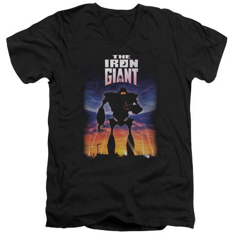 Iron Giant - Poster V-Neck V-Necks