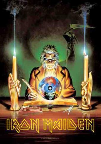 Iron Maiden - 7th Son Fabric Poster