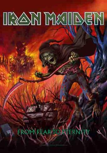 Iron Maiden - From Fear to Eternity Fabric Poster