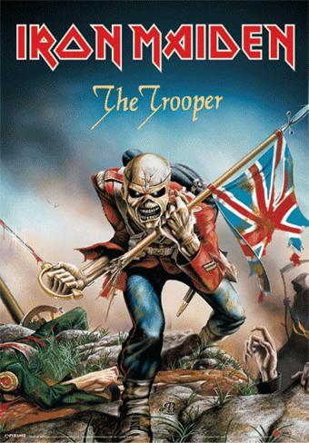 Iron Maiden- The Tropper 3 Dimensional Poster