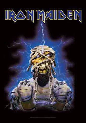 Iron Maiden Fabric Poster