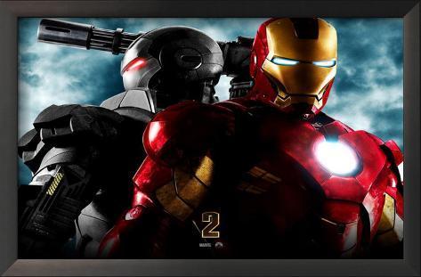 Iron Man 2 Framed Art Print