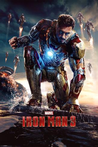 Iron Man 3 (Crouching)  Poster
