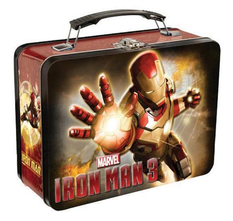 Iron Man 3 Large Tin Lunch Box Lunch Box