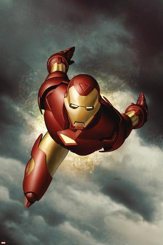 Iron Man No.1 Cover: Iron Man Poster