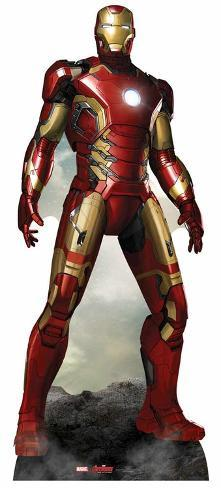 Iron Man - The Avengers: Age of Ultron Pahvihahmot