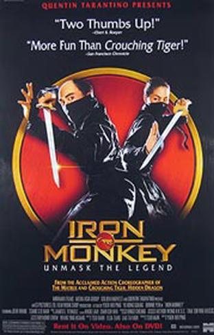 Iron Monkey Original Poster