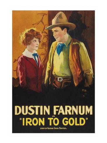 Iron to Gold Art Print