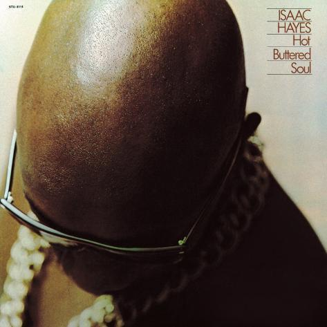 Isaac Hayes - Hot Buttered Soul Art Print