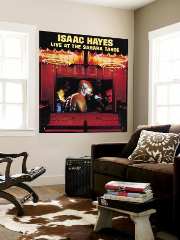Isaac Hayes - Live at the Sahara Tahoe Wall Mural