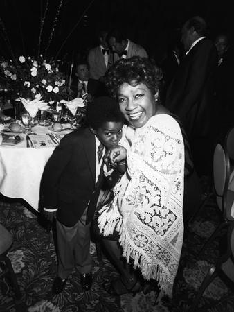 Isabel Sanford Gary Coleman 1982 Photographic Print By