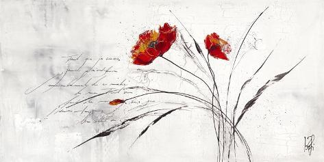 Reve Fleurie IV Art Print