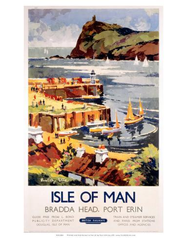 Isle of Man, BR (LMR), c.1948-1965 Art Print