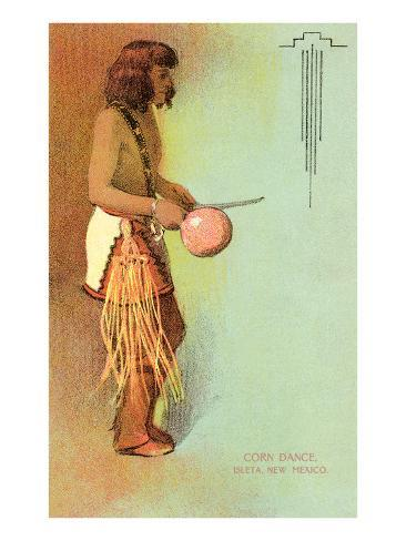 Isleta Pueblo Corn Dance Art Print