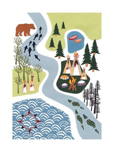 The Great Outdoors, 2016 Giclee Print