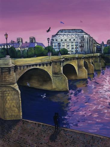 Le Pont Neuf Giclee Print