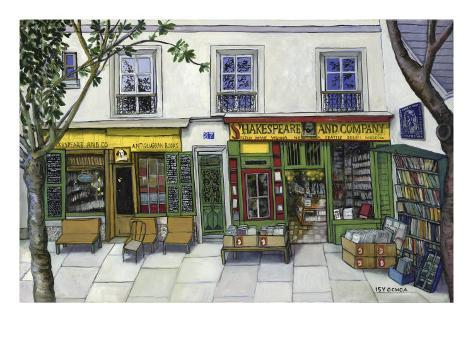 Shakespeare and Company, Paris Giclee Print