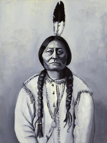 Sitting Bull Giclee Print