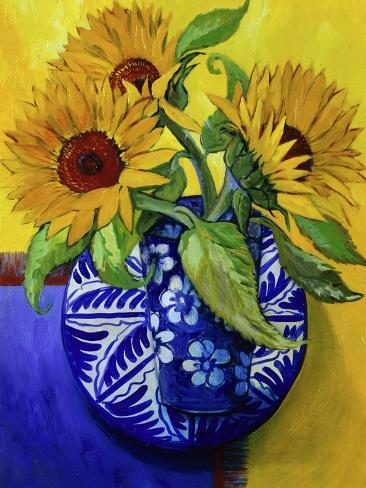 Sunflowers, Series I Giclee Print