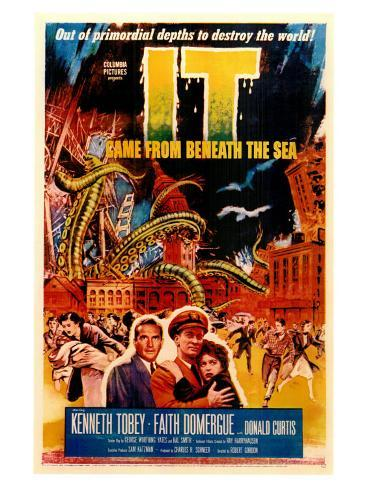 It Came From Beneath the Sea, 1955 Art Print