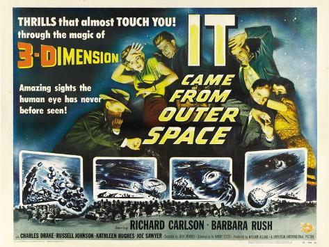 It Came from Outer Space, 1953 Art Print