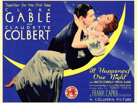 It Happened One Night, 1934 Art Print
