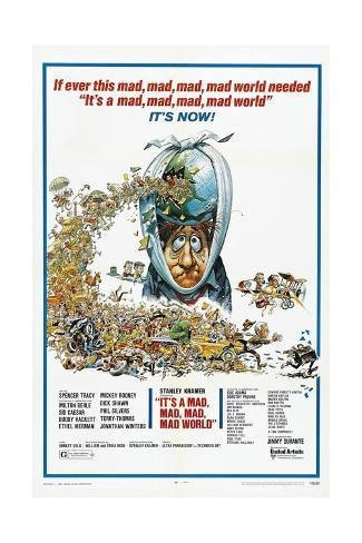 It's a Mad Mad Mad Mad World, 1963 Gicléetryck