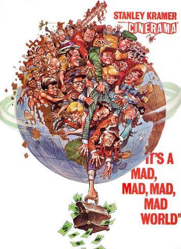 It's a Mad Mad Mad Mad World Masterprint