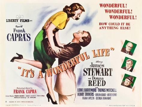 It's a Wonderful Life, 1946 Art Print