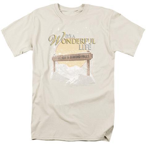 It's A Wonderful Life- Bedford Falls Sign T-Shirt