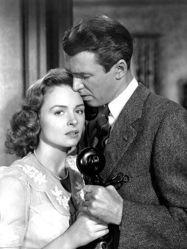 It's a Wonderful Life, Donna Reed, James Stewart, 1946 Photo