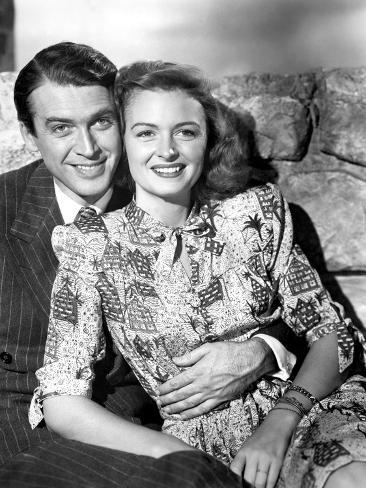 It 39 S A Wonderful Life James Stewart Donna Reed 1946 Fotograf A En