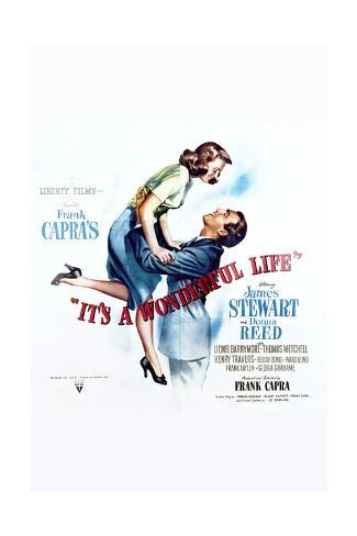 It's a Wonderful Life - Movie Poster Reproduction Art Print