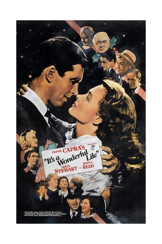 It's a Wonderful Life, Nose to Nose, 1946 Giclee Print