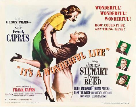 It's a Wonderful Life -  Style Poster