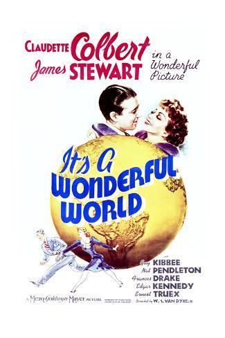 It's a Wonderful World - Movie Poster Reproduction Premium Giclee Print