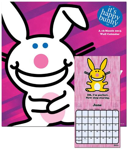 It's Happy Bunny - 2013 Calendar Calendars