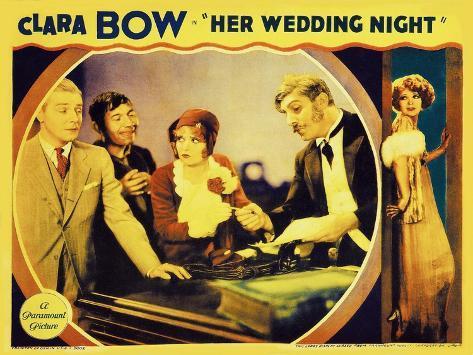 It's Her Wedding Night, 1930 Art Print