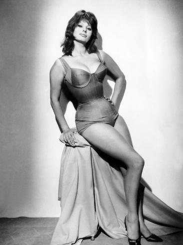 It Started in Naples, Sophia Loren, 1960 Photo