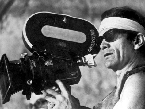 Italian Director Pier Paolo Pasolini on Set of Film Canterbury Tales 1972 Photo