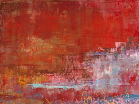 Mare di luce Stretched Canvas Print
