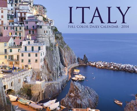 Italy - 2014 Box Calendar Calendars