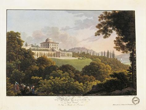 Italy, Como, Inverigo, Neoclassical Villa, Rotonda Designed by Luigi Cagnola in 1813 Giclee Print
