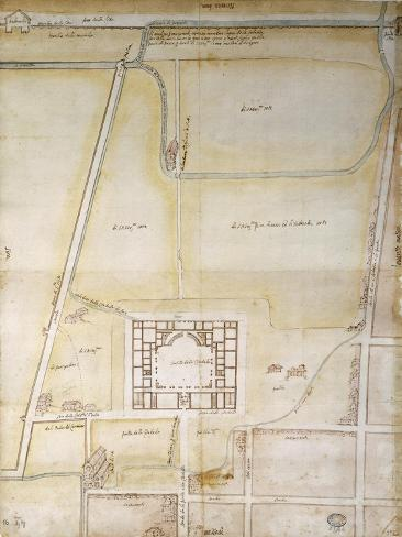 Italy, Piacenza, Farnese Palace Giclee Print