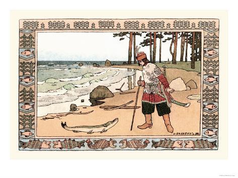 On the Shore Impressão artística